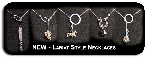 Lariat Style Necklaces by Deena